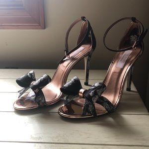 Ted Baker London strappy heels.